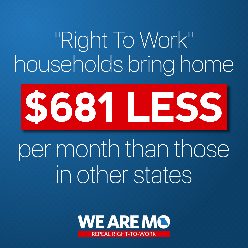 MO AFL-CIO Statewide Day Of Action On July 15