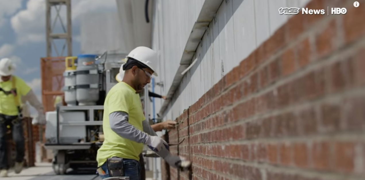 Vice News Story On Sam 100 Bricklaying Robot Bac Locals