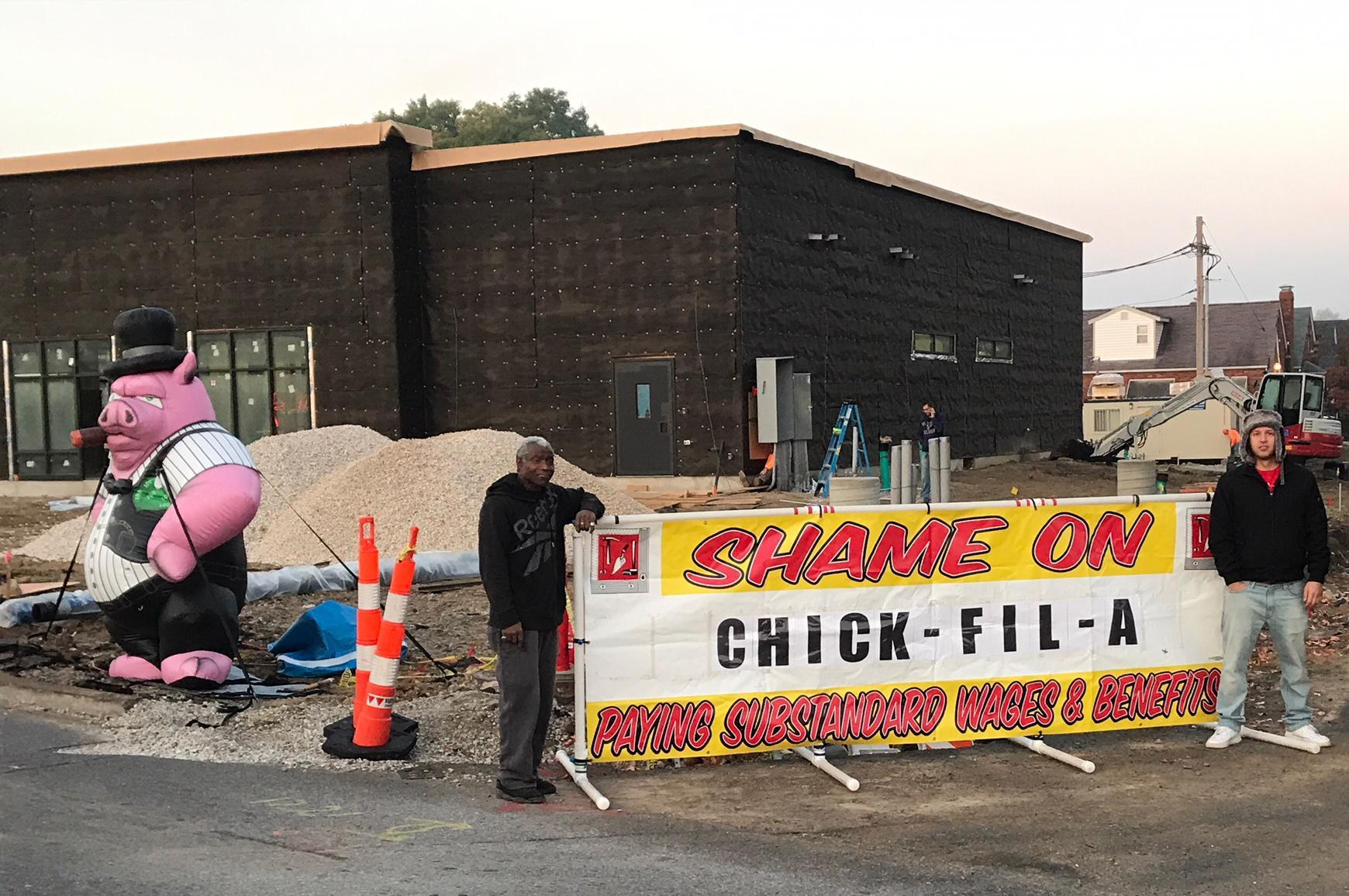 Job Action Against Chick Fil A Bac Locals