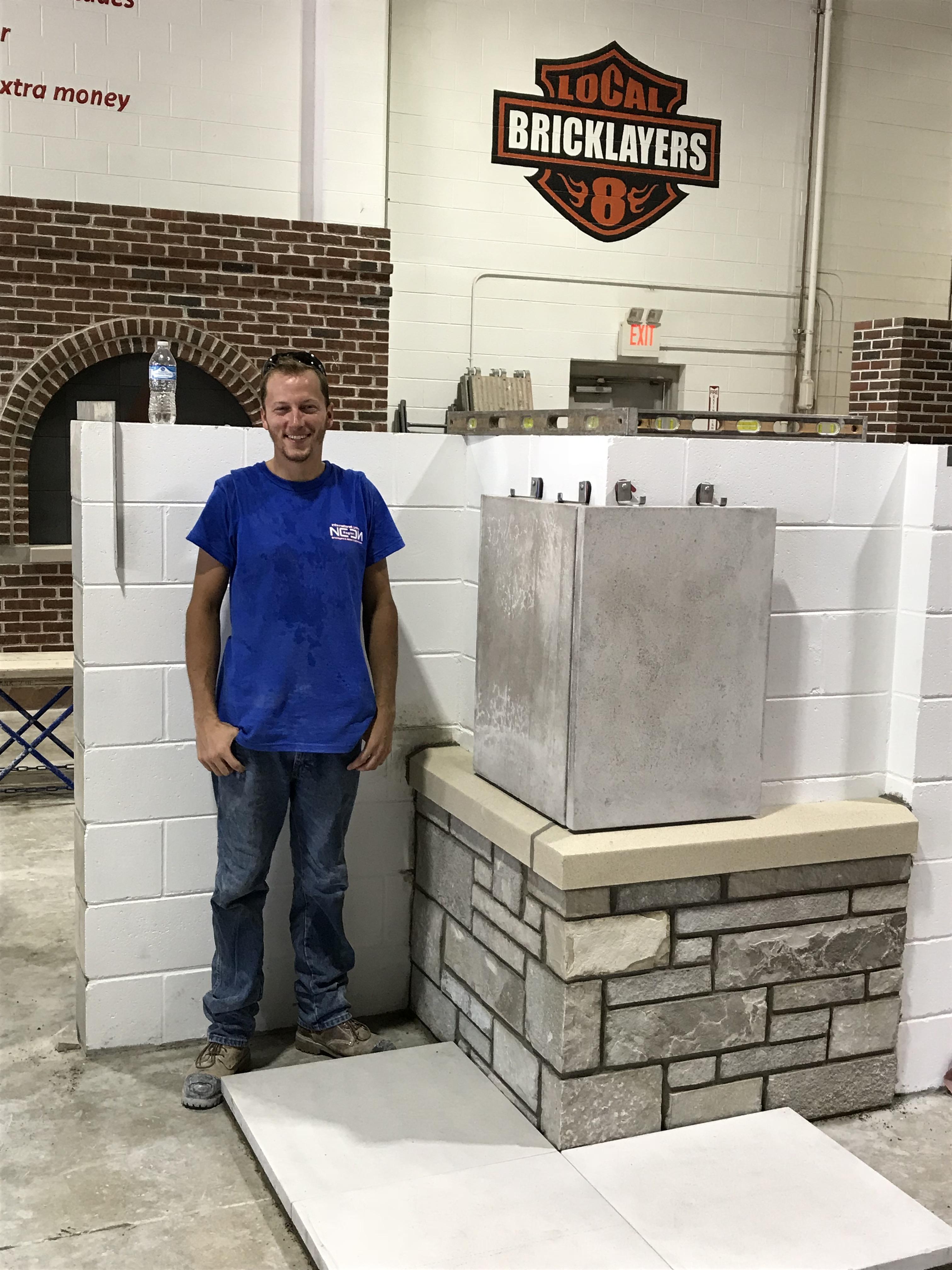 Regional Stone Masons Apprentice Contest 2018 Bac Locals